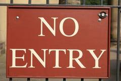 ani śladu wejścia Obraz Royalty Free