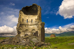 Ani, μεσαιωνική αρμενική πόλη Στοκ φωτογραφία με δικαίωμα ελεύθερης χρήσης