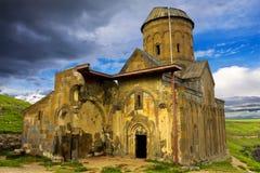 Ani medeltida armenisk stad royaltyfri bild