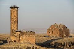 Ani Ruins royaltyfri bild