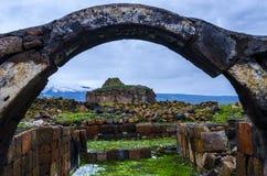 Ani Ruins Spring (stagione 4) fotografia stock libera da diritti