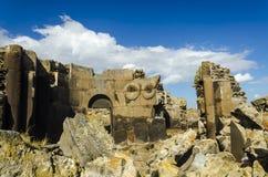 Ani Ruins Summer (gli ani di 4 stagioni) immagini stock libere da diritti