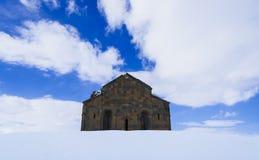 Ani Ruins Winter (Ani för 4 säsong) fotografering för bildbyråer
