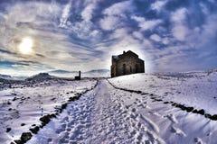 Ani Ruins Winter HDR (stagione 4) Fotografie Stock Libere da Diritti