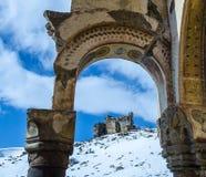 Ani Ruins Winter (stagione 4) fotografia stock