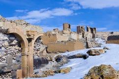 Ani Ruins Winter (stagione 4) immagini stock
