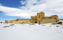 Ani Ruins Winter (stagione 4) fotografie stock libere da diritti