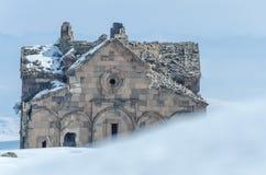 Ani Ruins Winter (stagione 4) immagine stock libera da diritti
