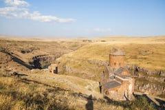 Ani ruiny w Turcja Obrazy Royalty Free