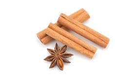 Anice And Cinnamon Stock Image