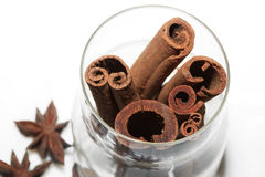 Anice and cinnamon Royalty Free Stock Photo