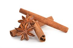Anice and cinnamon Stock Photos
