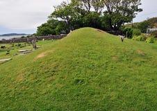 anicent埋葬国王土墩苏格兰人 库存图片