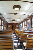 Anicient train. Anicient wooden train in port de soller in spain Royalty Free Stock Photography