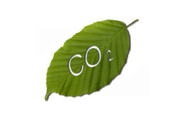 Anidride carbonica Immagine Stock