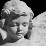 anielska twarz obraz stock