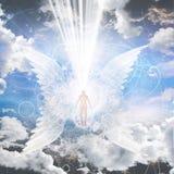 Anielski być royalty ilustracja