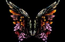 anielskie skrzydła Zdjęcie Royalty Free