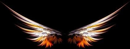 anielskie skrzydła royalty ilustracja