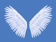 anielskie skrzydła Zdjęcia Stock