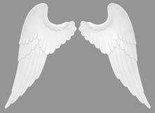 anielskie skrzydła Zdjęcia Royalty Free