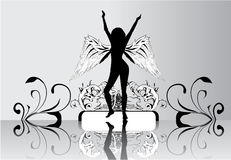 anielskie skrzydła Obraz Royalty Free