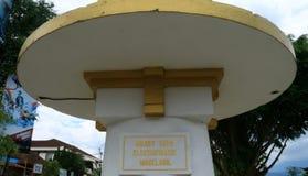 ANIEM-monument Arkivbild