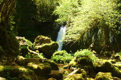 The Aniene river near Subiaco Royalty Free Stock Photo