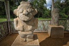 Anient雕象在哥伦比亚 免版税库存图片