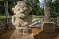 Anient statyer i Colombia Royaltyfria Bilder