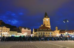 Anifest σε Brasov, Ρουμανία Στοκ Φωτογραφία