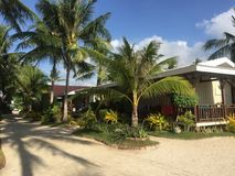 Anika Beach em Bantayan Imagens de Stock