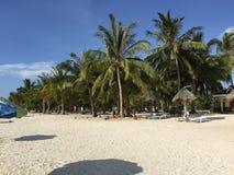 Anika Beach en Bantayan Fotos de archivo libres de regalías