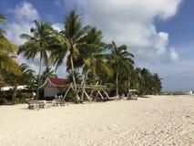 Anika Beach i Bantayan Royaltyfri Fotografi
