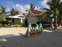 Anika plaża w Bantayan Zdjęcia Royalty Free
