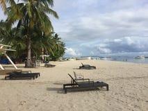 Anika plaża w Bantayan Obrazy Stock