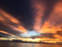 Anika plaża w Bantayan Obrazy Royalty Free