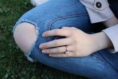 anillo Imágenes de archivo libres de regalías