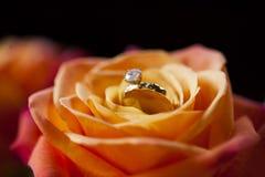 Anillo de bodas Fotografía de archivo