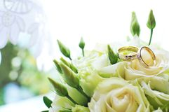 Anillo de bodas Fotografía de archivo libre de regalías