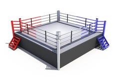 Anillo de boxeo Imagen de archivo libre de regalías