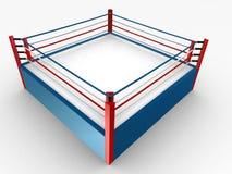Anillo de boxeo stock de ilustración