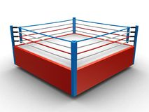 Anillo de boxeo Fotos de archivo