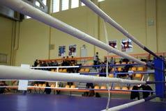 Anillo de boxeo Foto de archivo