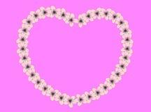 Anillo de corazones Imagen de archivo libre de regalías