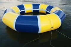 Anillo de la natación en el lago Imagen de archivo libre de regalías