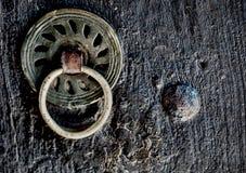 Anillo de la puerta Fotografía de archivo