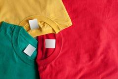 Anillo de las camisetas Foto de archivo