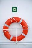 Anillo de Lifebuoy Imagen de archivo libre de regalías