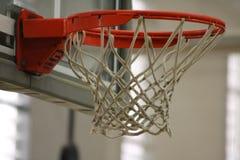 Anillo de los baloncestos Foto de archivo libre de regalías
